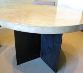 Steel Base Table