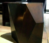 Faceted Brass Cocktail Table 2