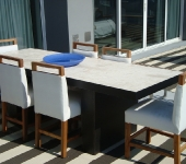 Steel and Concrete Table